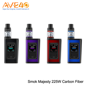 2018 Trending Products SMOK Majesty 225W TC Carbon Fiber Luxe Version Kit