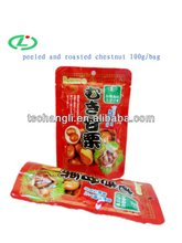 2013 crop peeled roasted Chinese chestnut snack
