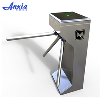 Tripod Turnstile 304 Stainless Steel Vertical Security Access Control System