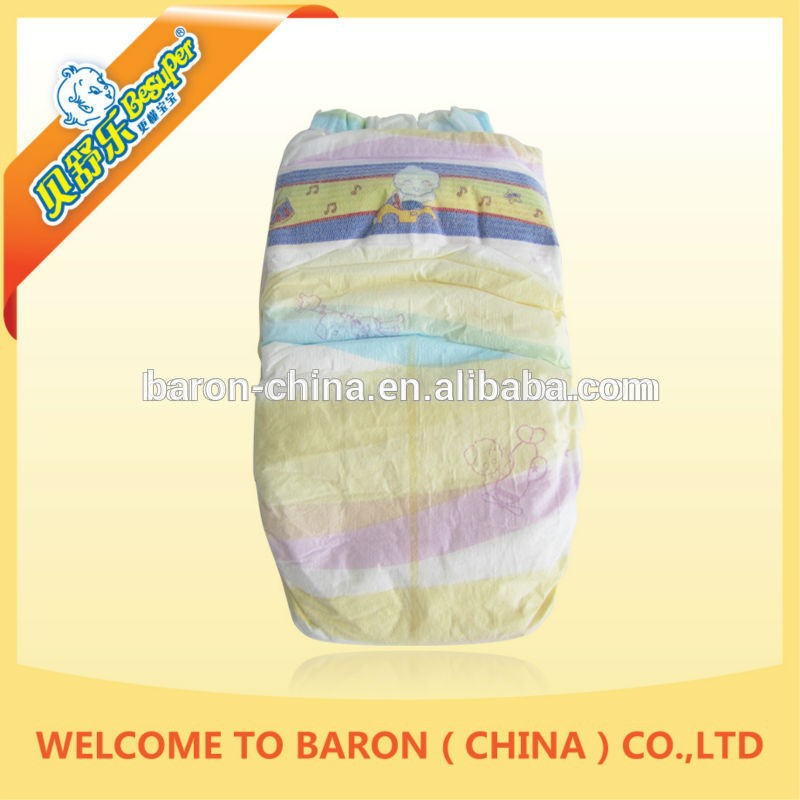 First choice hottest disposable b grade baby diapers in bales