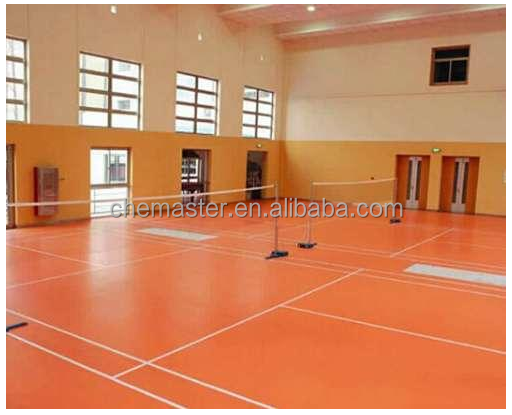 pvc flooring 4.5mm wearlayer and stable in fitness center BG.8601