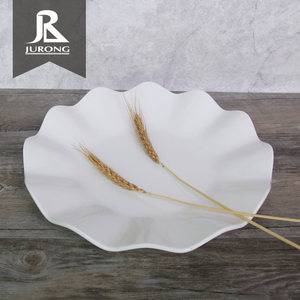 Best selling new items melamine plate white china dinnerware with low price