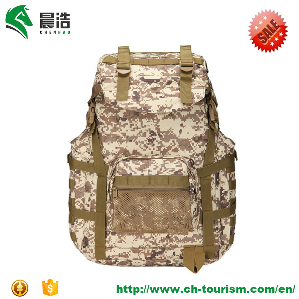 Manufacturer Best Large Tactical Military Backpacks 600D Polyester 50L 72hours Rush Backpack