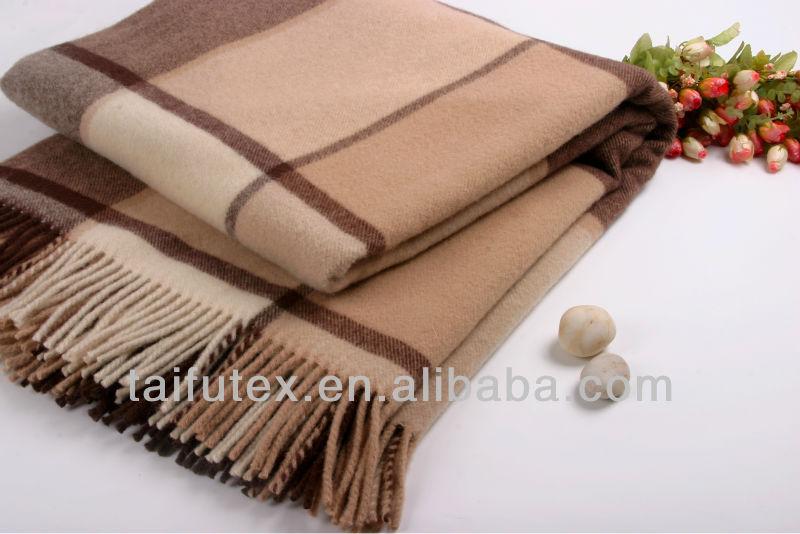 Soft Blanket Australian Wool Shawl&wool Throw
