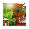AHL Interior Corten Steel Water Wall Mounted Room Divider