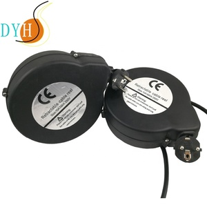 how to make a retractable cord reel/cable reel drum