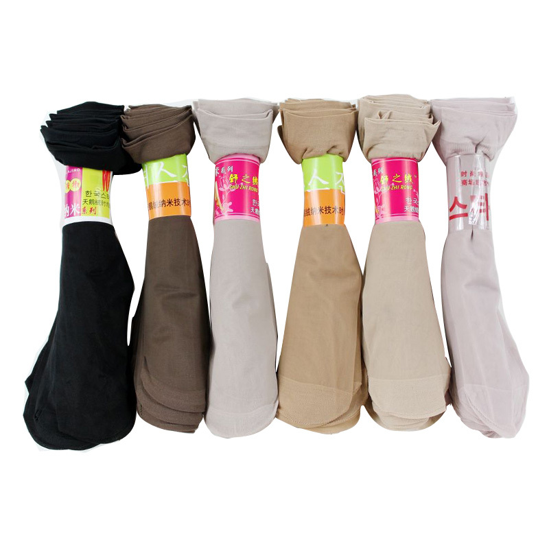 2015 Summer Ankle Female Socks Sexy Pure Color Xihan Invisible Rayon Socks Breathable Socks Fashion Womens 10 Pair/lot