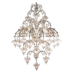 Buy more save more hot sales 31 lights HC9173-3+6+12+6+3+1 largest modern aluminium chain chandelier lighting
