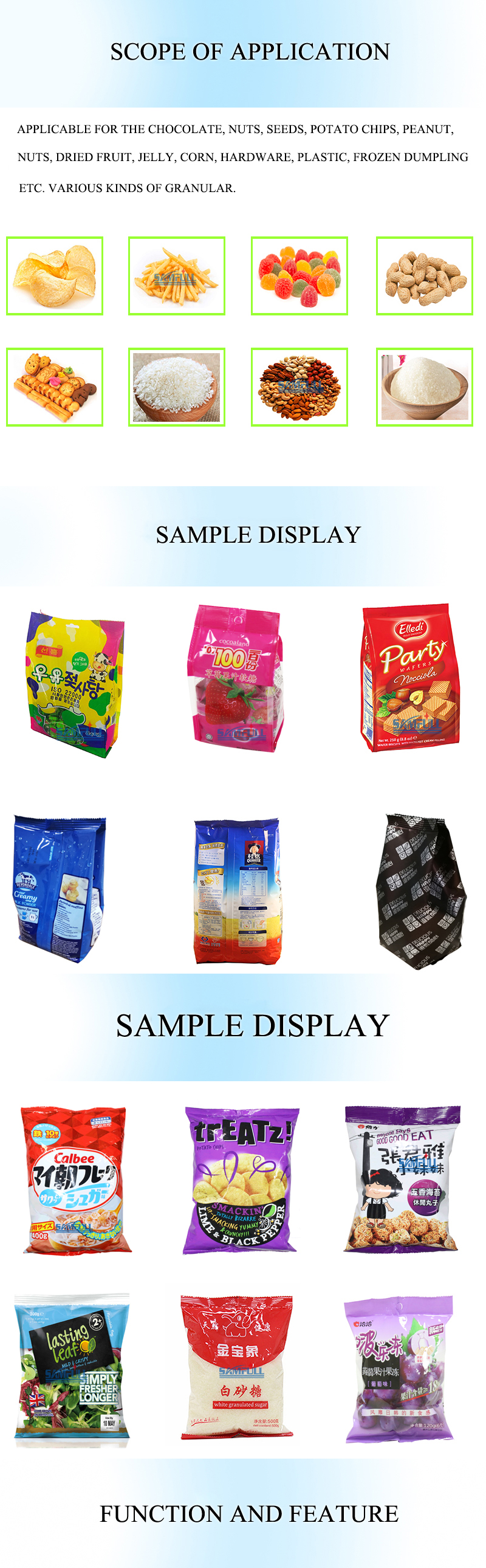 Nitrogen Packing Mesin untuk Makanan/Kering Durian/Keripik Pita/Jamur/Popcorn