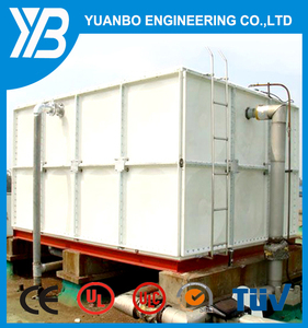 FRP/SMC/GRP/Stainless steel/Galvanized water tank for home and industry  storing water