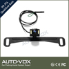 HD CMOS Car Rear View License Plate Camera With Hidden Bracket