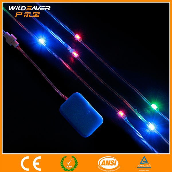 Flexible led light up strips for clothes and various use