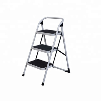 Astonishing 3 Step Foldable Ladder Platform Lightweight Folding Stool Space Saving 330Lb Cap Buy Light Steel Frame Steel Office Table Frame Steel Space Frame Pabps2019 Chair Design Images Pabps2019Com