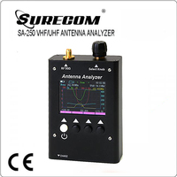 SURECOM SA250 sa-250 VHF & UHF portable Colour Graphic Antenna Analyzer