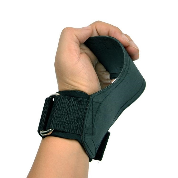 rubber <strong>weight</strong> lifting hand palm with adjustable wrist cuff straps