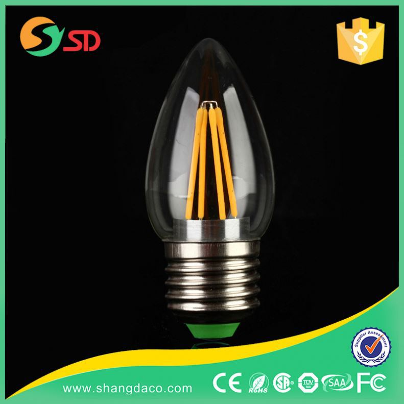 Super Bright Home Office Led Lamp Candle Lite Power Warmer Light Bulb