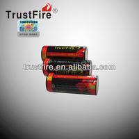 2013 Trustfire 26650 li ion battery for ecig 5000mah ego battery 3.7v battery rc planes used for squ-1003
