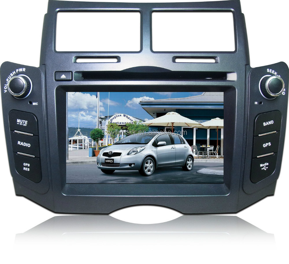 "6.2"" 2 din GPS touch screen <strong>car</strong> dvd for <strong>Toyota</strong> YARIS 2005~2011 DH6523"