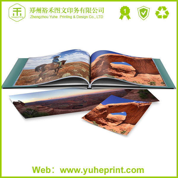 2015 China factory printing professional wholesale printing products thick photo cardboard book