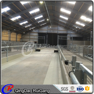 prefab cow shed cow barn cow house steel structure building