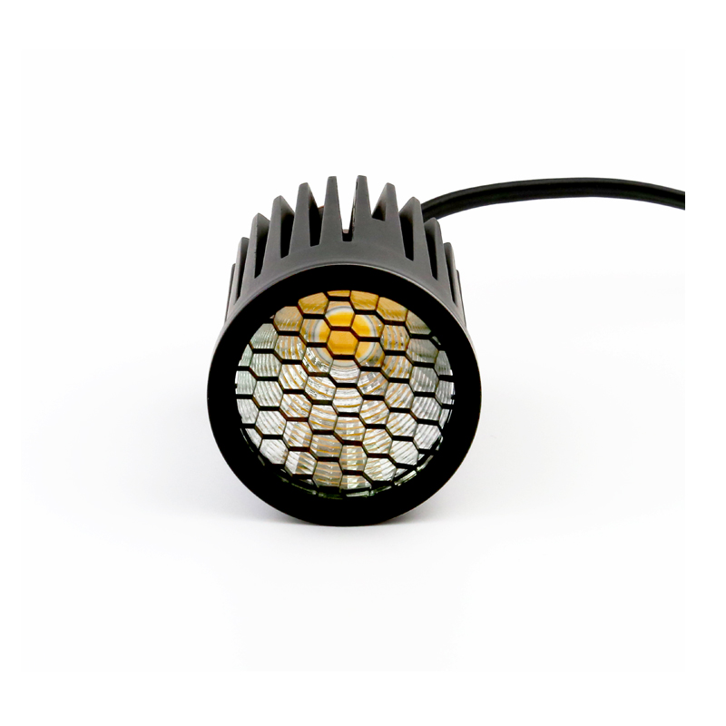Dimmable COB honeycomb Changeable MR16 Module 2000K / 2700K/ 3000K LED Downlight 6w