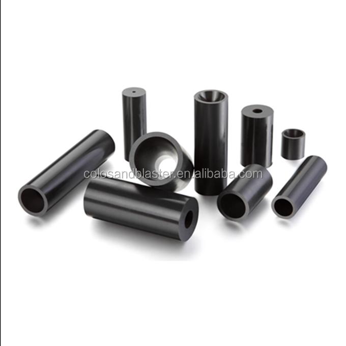 O 80mm X 20mm X L Boron Carbide Sandblasting Nozzle W 6 mm