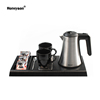Welcome electric kettle tray set for hotel guest room