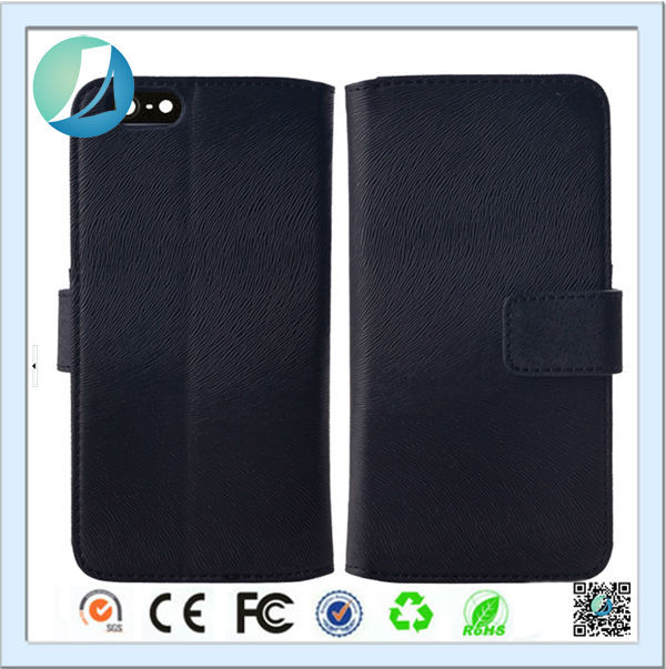 Wholesale Leather Wallet Mobile Phone OEM/ODM Back Cover for Apple iPhone 5
