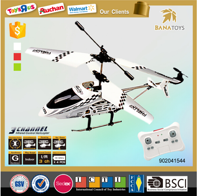 Christmas Gift 3 Functio RC Helicopter with Infrared Gyroscope