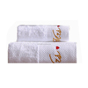 Hot selling custom logo hotel bath towels