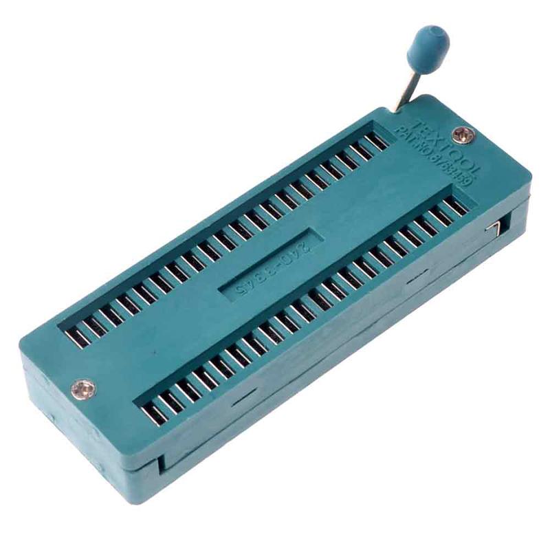 5pcs 24pin 24 Pin 2.54mm IC Test Universal ZIF Socket