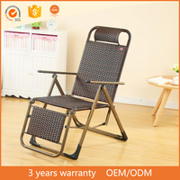 Poolside Lounger Folding Beach Chair Rattan Lying Bed Furniture From China Online