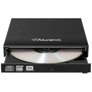 "Aluratek, Inc - Aluratek Aeod100f 8X Dvd - Double-Layer - Dvd-Ram/ R/ Rw - 8X 8X (Dvd) - 24X 24X (Cd) - Usb - External ""Product Category: Storage Drives/Optical Drives"""