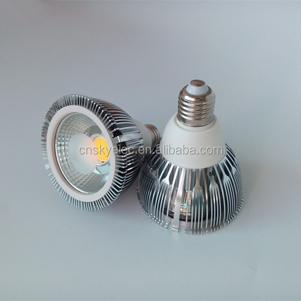 High power led cob par bulb 9w par30 dimmable cob par30 led bulb e27 factory sale e27/ e40/ g23/g24 pl led lamp