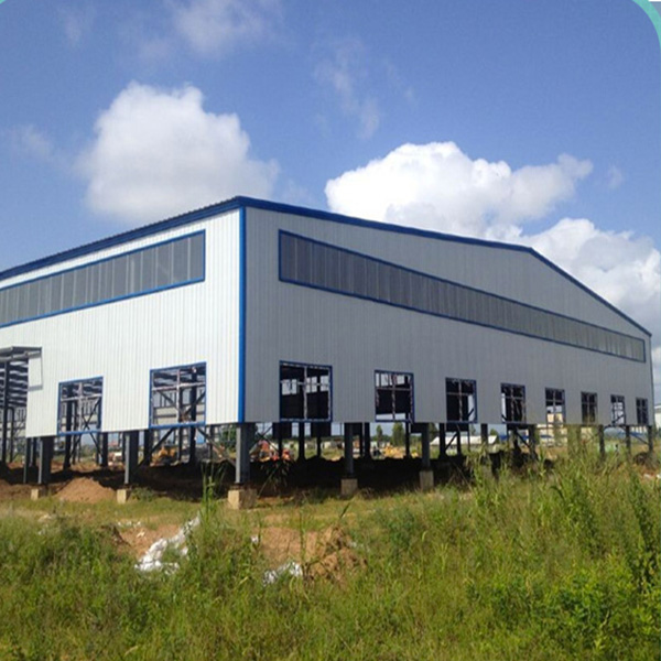 Low cost China prefabricated sheds warehouse,prefabricated steel building large span warehouse for industry, house workshop