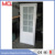 Guangzhou exterior aluminum frame frosted glass panel door for hotel