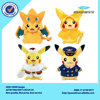 Popular wholesale pokemon toys plush bag plush pencil case for children gift
