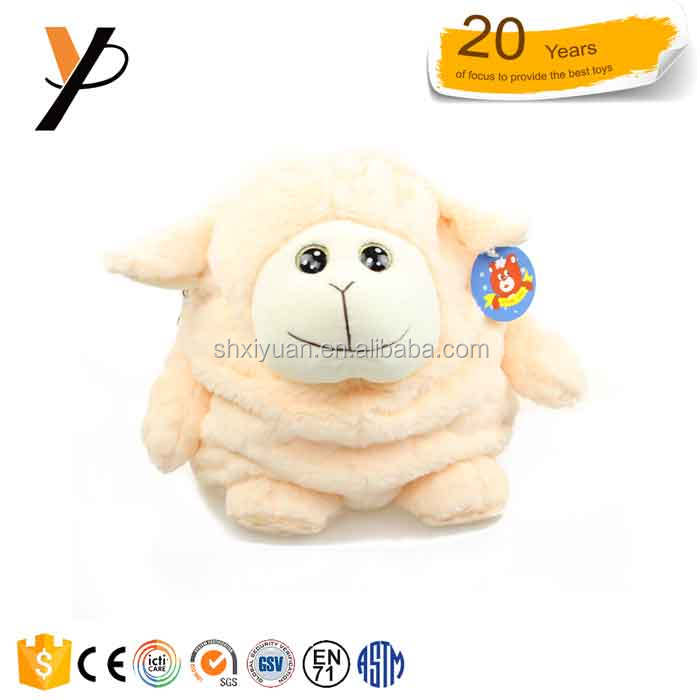 China Manufacturer Kids Plush Bags Wholesale Animal sheep Plush Backpack bag gift