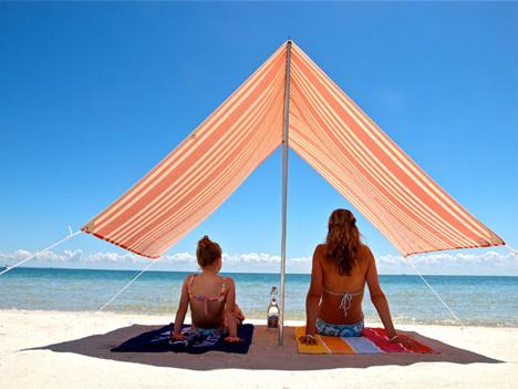 Portable Umbrella Beach Sun Protect Shelter Shade Canopy C& Tent & Portable Umbrella Beach Sun Protect Shelter Shade Canopy Camp Tent ...