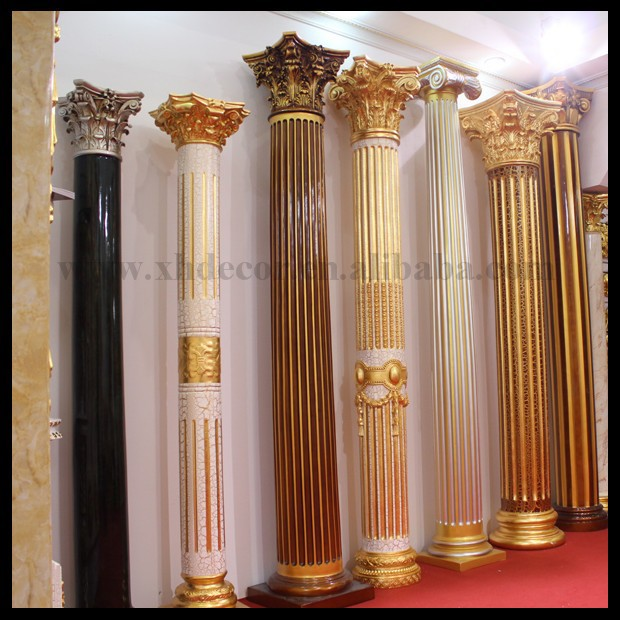 Frp Decoration Roman Column Pillar Not Gypsum Home Decor
