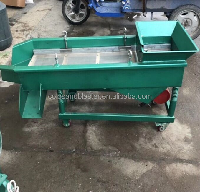 Vibration sorting machine for fork, spoon and other metal tools
