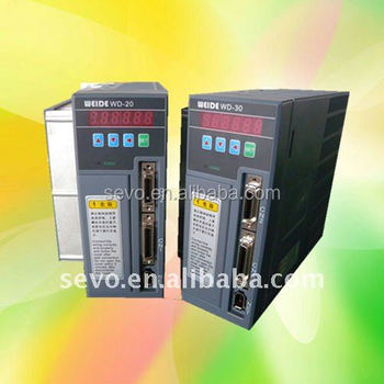 WD-15B/20B/30B/50B/75B 0.1-5.5kw ac servo drive 2500incremental 3-phase single phase position control for cnc machines