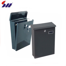 Wholesale simple appearance apartment wall mounted metal mailbox