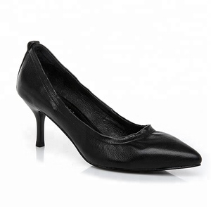 Made in China Classy Sexy leather fashion design comfortable women dress lady shoes