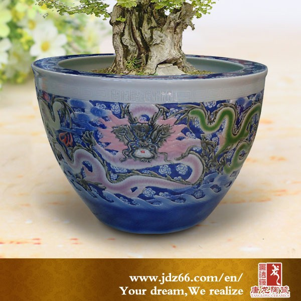 Large Ceramic Pots For Sale Part - 27: Chinese Design Excellent Quality Hand Painting Dragon Ceramic Large Clay  Pots Sale For Decoration - Buy Large Clay Pots Sale,Hand Made Clay Pot,Hot  Pot For ...