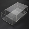Shoes Box / Clear Acrylic Drop Front Shoes Box
