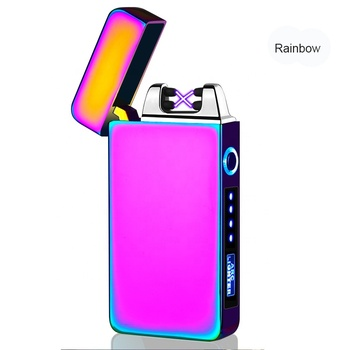 new double arc rechargeable USB lighter/dual arc USB pipe lighter best selling products