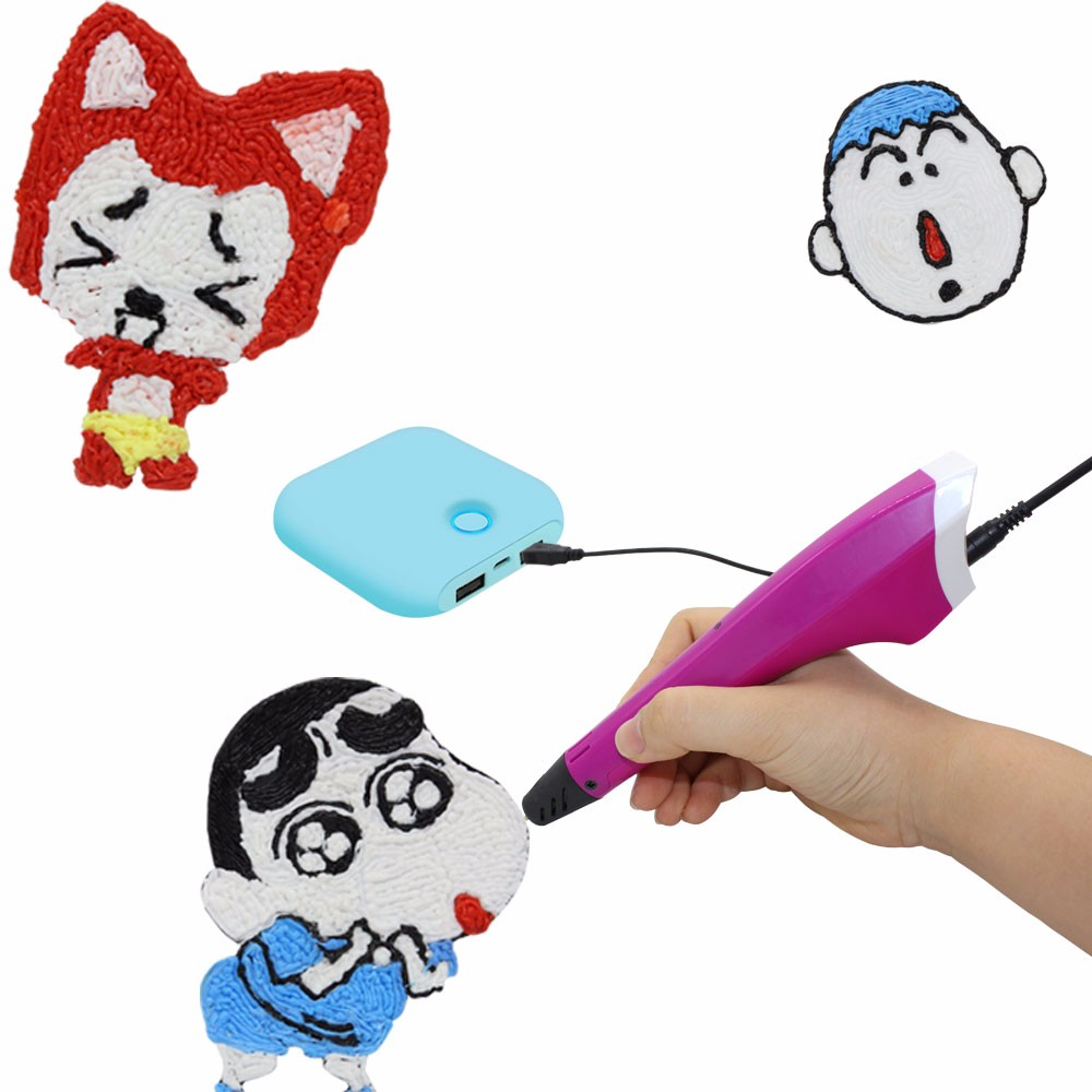 High quality 3d doodle pen vendor, 3D Printing pen for kid use