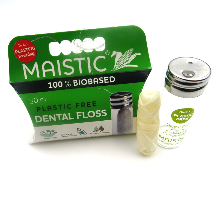 Oral Care Zero Waste Bamboo Charcoal Dental Floss