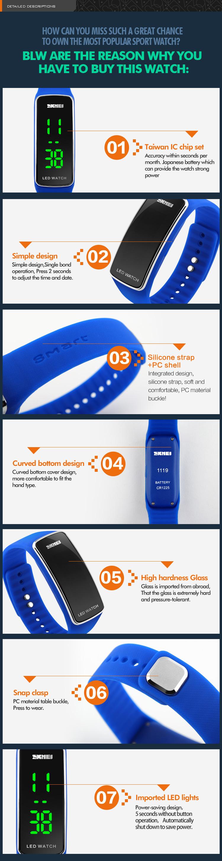China Led Wrist Watch Suppliers Led Digital Wrist Watch ...